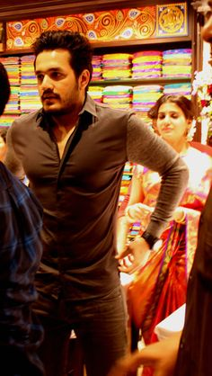 akhil in south india shopping mall