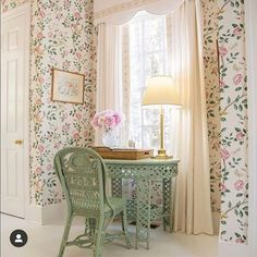 Andhara wallpaper от Sanderson из коллекции Caspian наполнит ваш интерьер весенним ароматом, несущим свежесть и вдохновение....