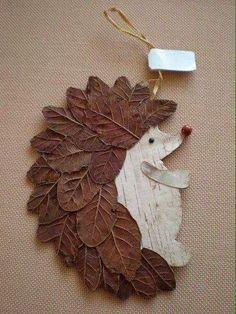 Basteln Schule Igel DIY Naturmaterialien Blätter herrlicher Look Tips On Talking To Kids About Not S Kids Crafts, Leaf Crafts, Diy And Crafts, Arts And Crafts, Paper Crafts, Decor Crafts, Autumn Crafts, Autumn Art, Nature Crafts