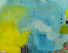 "Saatchi Art Artist: Christiane Lohrig; Acrylic 2013 Painting ""Kopfsprung"""