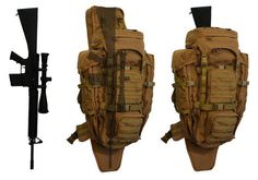 """This pack stows your undies as well as your long gun, so rambo!!!    Eberlestock G4 """"Operator"""" Pack"""
