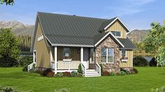 House Plan 51440 | Country Plan with 1850 Sq. Ft., 3 Bedrooms, 3 Bathrooms