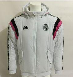 Chaqueta de Algodón Real Madrid 2014-2015 -- Blance - €55.00   ad5c4c09c9480