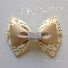 once upon a time hair bow by abowtiqueshop on Etsy ouat emma swan regina captain hook storybrooke