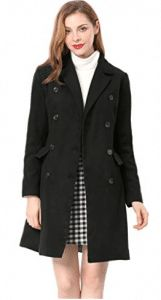 Find Allegra K Allegra K Women's Notched Lapel Double Breasted Trench Coat online. Shop the latest collection of Allegra K Allegra K Women's Notched Lapel Double Breasted Trench Coat from the popular stores - all in one Long Winter Coats, Winter Coats Women, Coats For Women, Long Jackets For Women, Classy Work Outfits, Classy Outfit, Stylish Coat, Double Breasted Trench Coat, Mantel