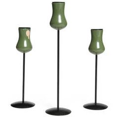 Tulip Candleholders by Laurids Lonborg