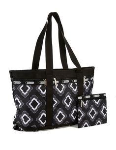 Plus Large Printed Travel Tote Bag