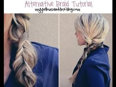 I've been looking for a braid like this my whole life. Too bad I just cut my hair short :'(