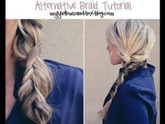 Alternative Braid Tutorial 3:50 min