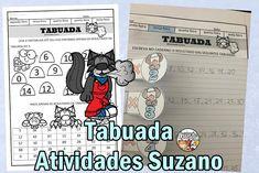 Tabuada divertida EM PDF | Atividades Pedagogica Suzano