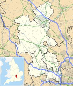 Map of Newport Pagnell, Bucks