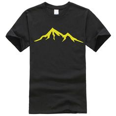 Mountains design Men's Tshirt