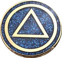 AA Circle Triangle Logo Reflex Blue Glitter Gold Plated Chip I Love Glitter Font, Blue Glitter, Make A Free Logo, Glitter Grout, Logo Samples, Triangle Logo, Selling On Pinterest, Circle Logos, Glitter Background