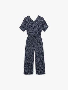 combinaison bleue marine à pois graphiques | agnès b. Jumpsuit, Collection, Dresses, Fashion, Charts, Suit, Blue, Overalls, Vestidos