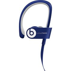 Beats by Dr. Dre - Powerbeats2 Wireless Bluetooth Earbud Headphones - Blue - Larger Front