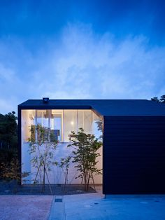 "This minimalist residence was created in 2010 by Kochi Architect's Studio and is located in Kamakura, Kanagawa, Japan. The project is named '47%' because the interior floor space makes up 47% of the home's entire area. 47% House by Kochi Architect's Studio: ""A house located on the hill in Kamakura JAPAN. I put a large box which contains various of space, a small garden, entrance hall, living space, terrace, and so on. Interior floor area is 47% compare with the whole floor ar..."