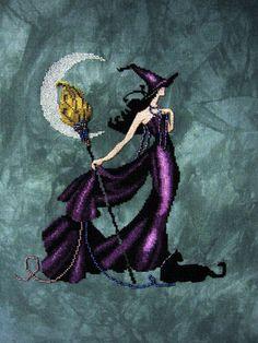 (Gigi HD) - Mirabilia Stitchers - Gigi converted to purple Celtic Cross Stitch, Cross Stitch Letters, Cross Stitch Books, Cross Stitch Needles, Beaded Cross Stitch, Cross Stitch Art, Counted Cross Stitch Patterns, Cross Stitch Designs, Cross Stitching