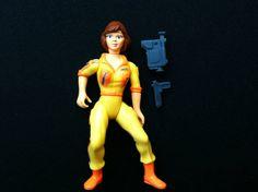April O'neil Teenage Mutant Ninja Turtles TMNT Figure 1988 on Etsy, $15.00
