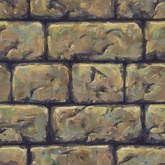 Handpaited texture, cgart vn on ArtStation at https://www.artstation.com/artwork/KANG
