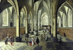 Whereabouts of eight artworks depicting church interiors sought for exhibition 'Perspective in Antwerp' in 2016 - CODART - Dutch and Flemish art in museums worldwide