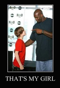 Shaq to Justin Beiber: That's My Girl