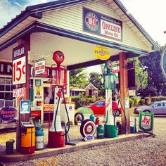 The Gay Parita just west of Springfield in Halltown is a Route 66 icon.