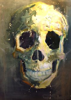 "Untitled (Sisyphus)  48""x36"" Oil on Canvas 2014 Mike Rachlis"