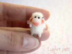 Tiny White Sweet Sheep.