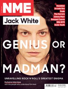 NME Magazine cover, Jack White, June 14 2014