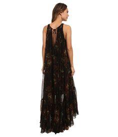 Free People Juno Maxi Dress Mid Summer Night Combo - 6pm.com