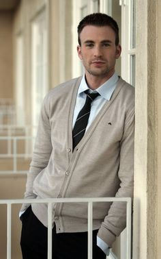 Chris Evans; adorbs!