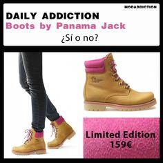 Daily Addiction: Boots Limited Edition by Panama Jack ¿Sí o no?