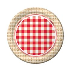 Picnic Basket Dinner Plates|Fast Shipping|8 per package