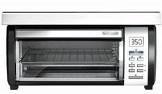 Toaster ovens have become part-and-parcel of the modern kitchen. Some will toast bread; Under Counter Toaster Oven, Toaster Ovens, Black And Decker Toaster, Look Good Feel Good, Best Black, Coloring Books, Top, Cabinet, Floral