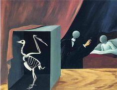 The sensational news, 1926, Rene Magritte Size: 81x62 cm