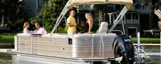 Harris Flotebote Royal 230 - Comfortable and Luxury Pontoon Boat. For more information Visit -    http://www.pontoonboatguide.com/compare-pontoons/harris-flotebote/royal-230/