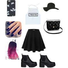 Troye Sivan Concert by briski-ba on Polyvore featuring polyvore, fashion, style, Doublju, Topshop and Lottie