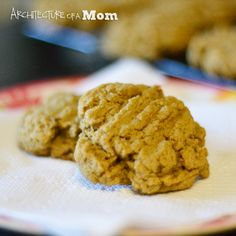 Banana Peanut Butter Cookies #recipe . Yummy #toddler #dessert !