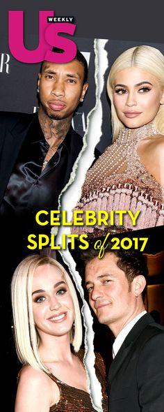 Celebrity Splits of 2017