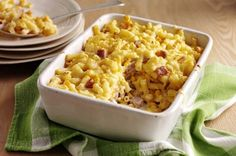 Quick And Easy Family Recipe: Macaroni Cheese With Ham And Sweetcorn