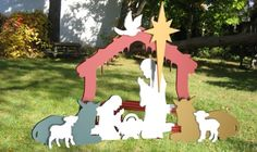 Outdoor Nativity Patterns | Wood Works of Cedar Springs - Outdoor Products