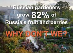 While many in the world are completely dependent on large scale agriculture, the Russian people feed themselves. Their agricultural economy is small scale, predominantly organic and in the capable hands of the nation's people. Russians have something built into their DNA that creates the desire to grow their own food. Find out more at www.naturalhomes.org