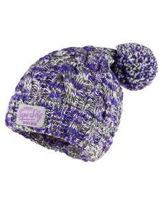 a65656f2f98 Superdry Colour Splash Beanie Knit Beanie Hat
