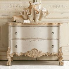 Roma Gold Taupe Two Tone Commode sloan painted furniture painted furniture furniture laminate furniture ideas furniture shabby chic Redo Furniture, Shabby Chic Dresser, Furniture Diy, Chic Home Decor, Furniture Inspiration, Home Furniture, Shabby Chic Furniture, Vintage Furniture, Beautiful Furniture