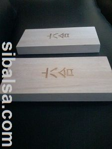 balsa wood box