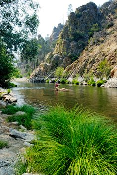 fly fishing the Kern River