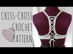 bikini / halter top a crochet (ENGLISH SUBTITLES!) paso a paso - Parte 1 de 2 - YouTube