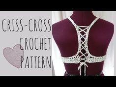 bikini / halter top a crochet (ENGLISH SUBTITLES!) paso a paso - Parte 1 de 2 - YouTube
