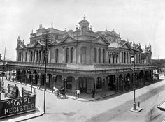South Africa history - first opera house in Cape Town 1893
