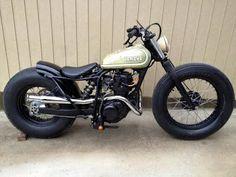 Yamaha TW 125 Brat Style Brat Style #motorcycles #bratstyle #motos | caferacerpasion.com